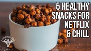 5 Healthy Snacks for Netflix and Chill / 5 Recetas Sanas para Relajarse con Netflix