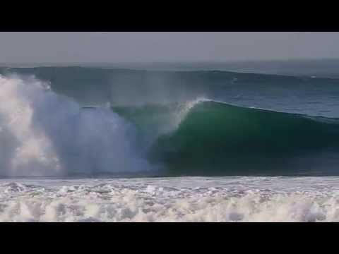 Beachbreak Supertubos In Portugal