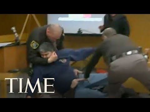 Father Of Three Abuse Victims Lunges At Larry Nassar During Sentencing Hearing | TIME