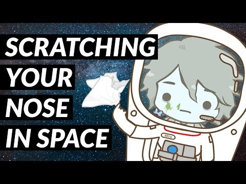How Do Astronauts Scratch Their Nose Without Hands?