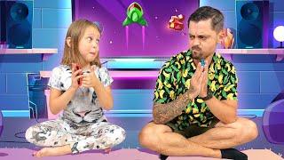 Кто тут главный ИГРОМАН? Папа и Амелька соревнуется в Nintendo Switch!