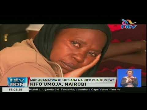 Mke akamatwa kuhusiana na kifo cha mumewe Umoja, Nairobi