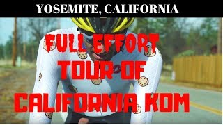 FULL EFFORT: Phil Gaimon Takes Tour of California KOM from Laurens Ten Dam