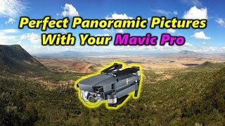 Taking The Perfect Panoramic Picture With Your Mavic Pro