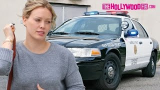 Hilary Duff Threatens To Call The Police On Paparazzi 6.13.15 - TheHollywoodFix.com
