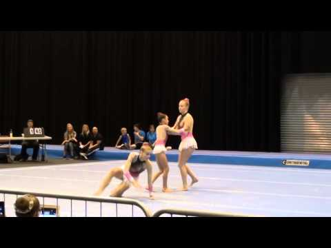 Brittany, Aimee & Isabel Wakefield Gym Club 11-16 WG Tempo