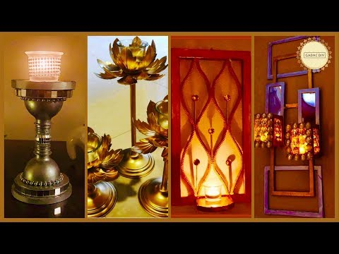 5 Super Easy Light Decor Ideas| gadac diy| room decor| waste material craft ideas| diwali decoration