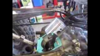 Yamaha Blaster Top End Rebuild