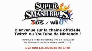 Super Smash Bros. for Wii U : En direct de la Paris Games Week 2014