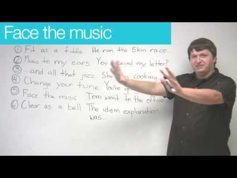 Idioms in English - Music