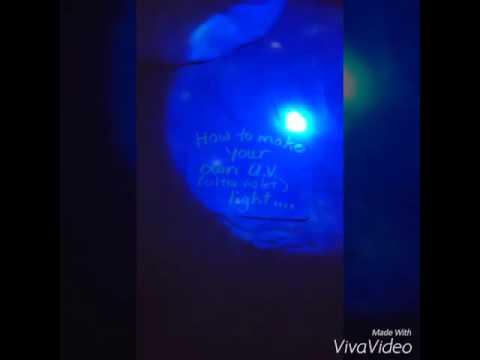 D.I.Y. Ultraviolet Flashlight