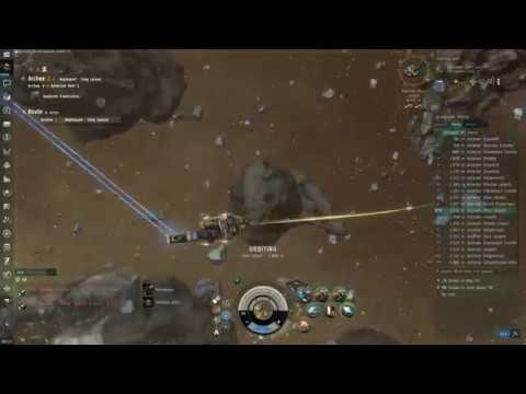 Eve Online 2018 - Mining Jaspet in a Low 0.4 Security System + General Tips