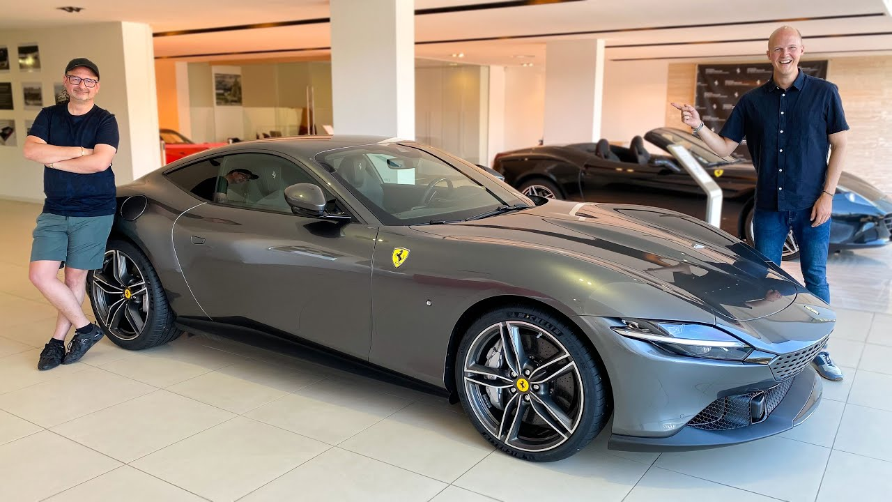 Tony's Next Supercar? Ferrari Roma Test Drive