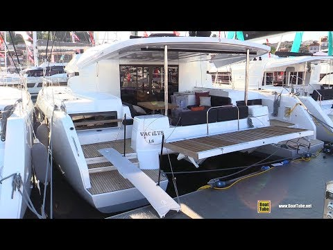 2019 Lagoon 50 Catamaran - Deck And Interior Walkaround - 2018 Cannes Yachting Festival
