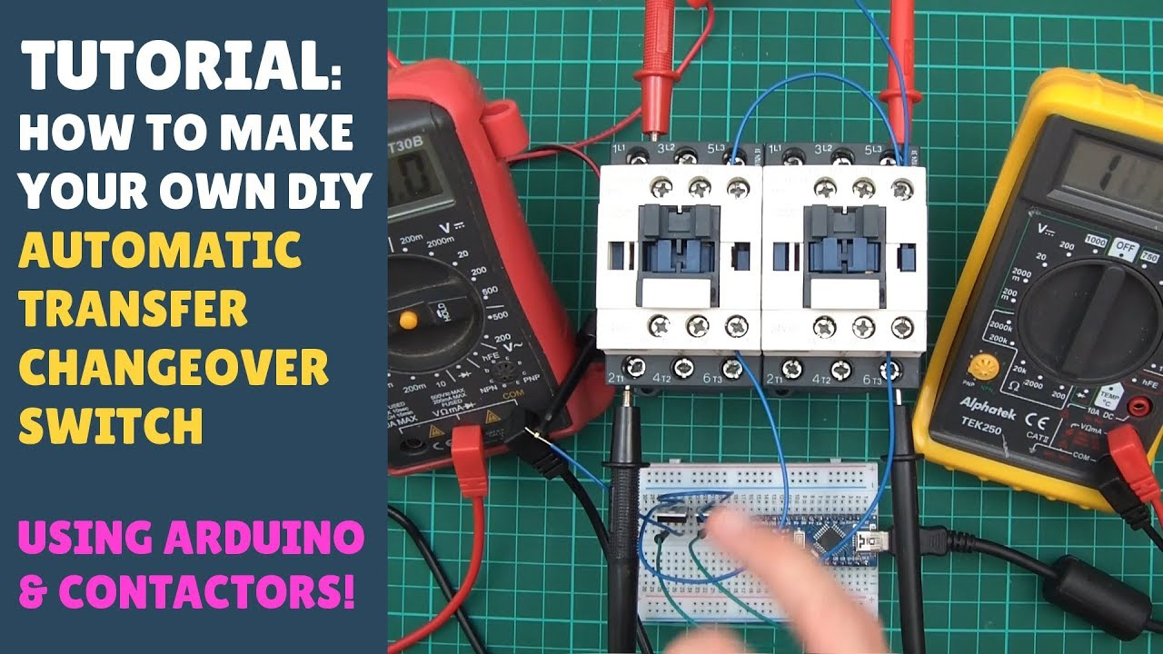 TUTORIAL: How to Make an Automatic Transfer Changeover