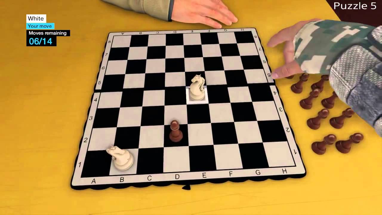Watch Dogs Chess Puzzles