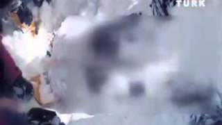 BBP lideri Muhsin Yazıcıoğlu'nun kar altındaki son görüntüleri