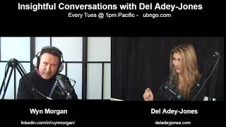 Wyn Morgan on Insightful conversations with Del Adey-Jones