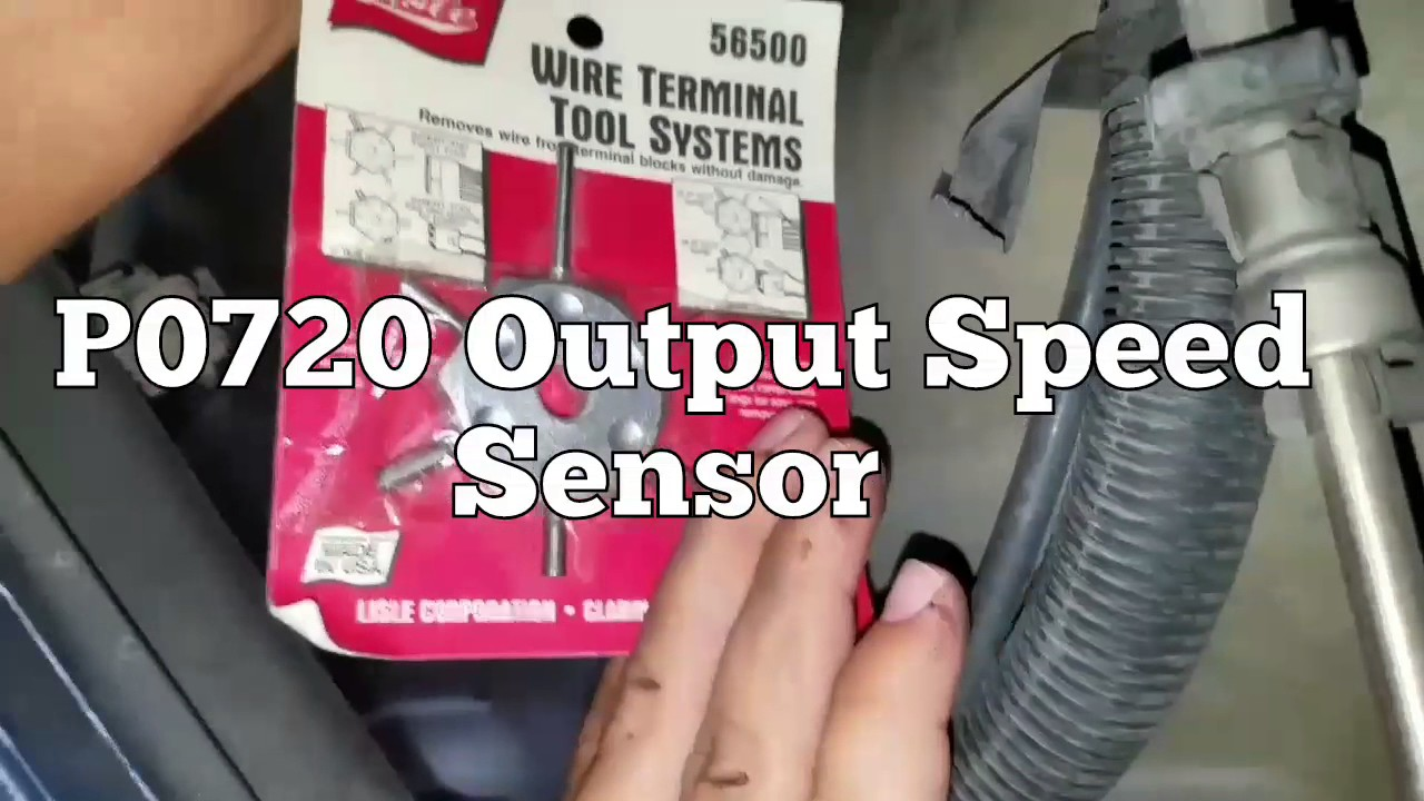 P0720 Output Speed Sensor - YouTube