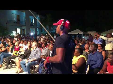Rutshell à la rencontre de son public à Port-au-Prince !