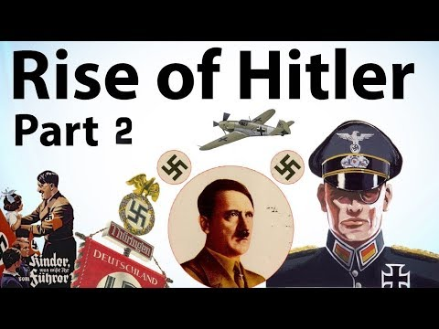 Rise of Hitler Part 2 - Biography of Adolf Hitler, Mein Kampf - How Hitler became ruler of Germany