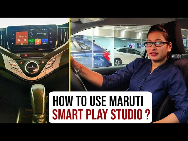 How to connect & use Smart Play Studio to Maruti Car