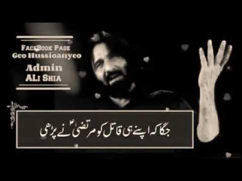 Repeat Nadeem Sarwar ( Haider Maula a s ) Whatsapp Status by