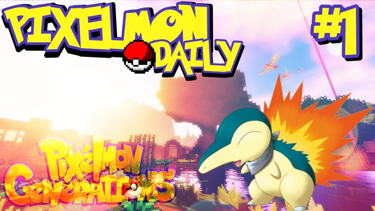 Welcome To The Server! | Pixelmon Daily FT  Fell Wolfpaw
