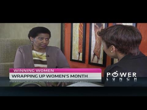 Phumzile Mlambo-Ngcuka speaks on her role at UN Women