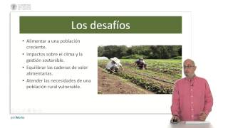 Retos de la agricultura y la alimentación en el siglo XXI | UPValenciaX on edX | Course About Video