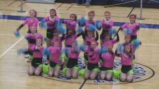 PNHS Poms - 80's Fitness Workout pom routine dance competition Salt N Pepa Push it Devo Whip It