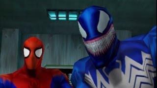 Spider-Man (2000) - Walkthrough Part 23 - Spider-Man Vs. Venom Again
