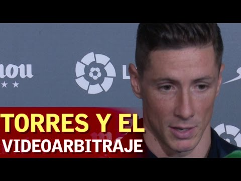 Fernando Torres habló sobre la Copa del Rey y el videoarbitraje - 동영상