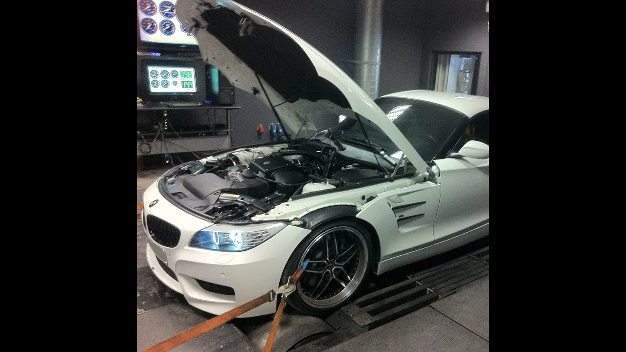 Bmw Z4 35i Twin Turbo Stage 1 Youtube