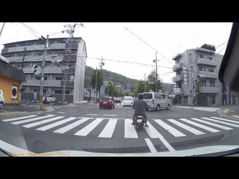 ワゴンRスティングレーT・MH34S 京都市山科区 新十条~大石道