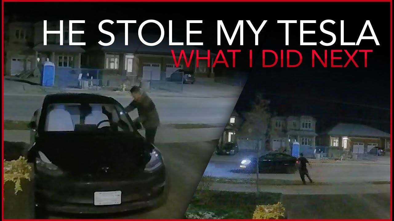 Download He Stole My Tesla Model 3 - What did I do next?