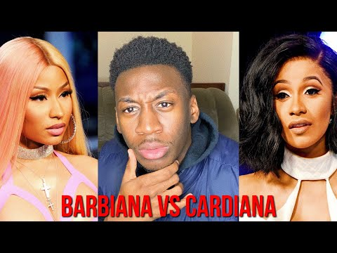 BARBIANA VS CARDIANA (THOTIANA REMIXES) Nicki Minaj vs. Card