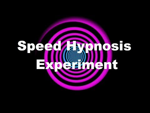 Speed Hypnosis Experiment
