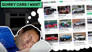 Doug's Picks: Here Are The Quirky Cars Doug DeMuro Most Wants on Cars & Bids!