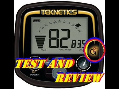 Teknetics G2+ (G2 Plus) test and review, most comprehensive reviw.