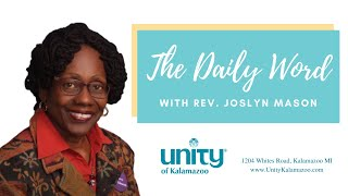Friday March 12, 2021 Prosperity Rev. Joslyn Mason