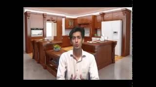 لزوم طراحی کابینت آشپزخانه قبل از کاشی آشپزخانه و تاسیسات
