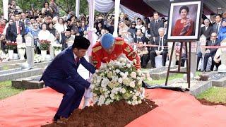 Presiden Jokowi Pimpin Upacara Pemakaman Ibu Ani Yudhoyono, Jakarta, 2 Juni 2019