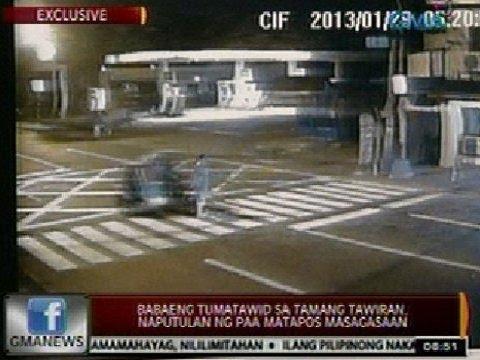 24Oras: Exclusive: Babaeng tumatawid sa tamang tawiran sa Pasig, naputulan ng paa matapos masagasaan