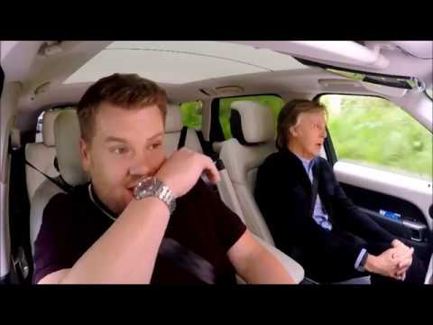 Paul McCartney - James Corden - Let It Be