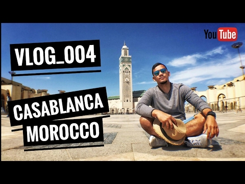 Experience Casablanca Morocco | Vlog_004 Grand Mosque Hassan II