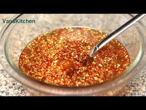 Cach Lam Nuoc Cham (Vietnamese Dipping Sauce)