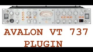 AVALON VT 737  Plugin