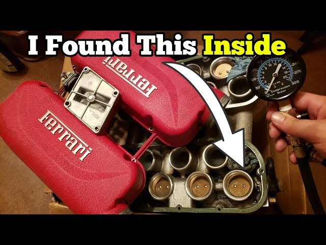 Is the Salvage Auction Ferraris Engine Bad? I Started Taking it Apart and Found Multiple Issues!
