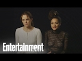 American Honey: Riley Keough & Sasha Lane On Working With Andrea Arnold | Entertainment Weekly